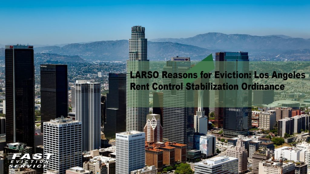 Larso reasons for eviction