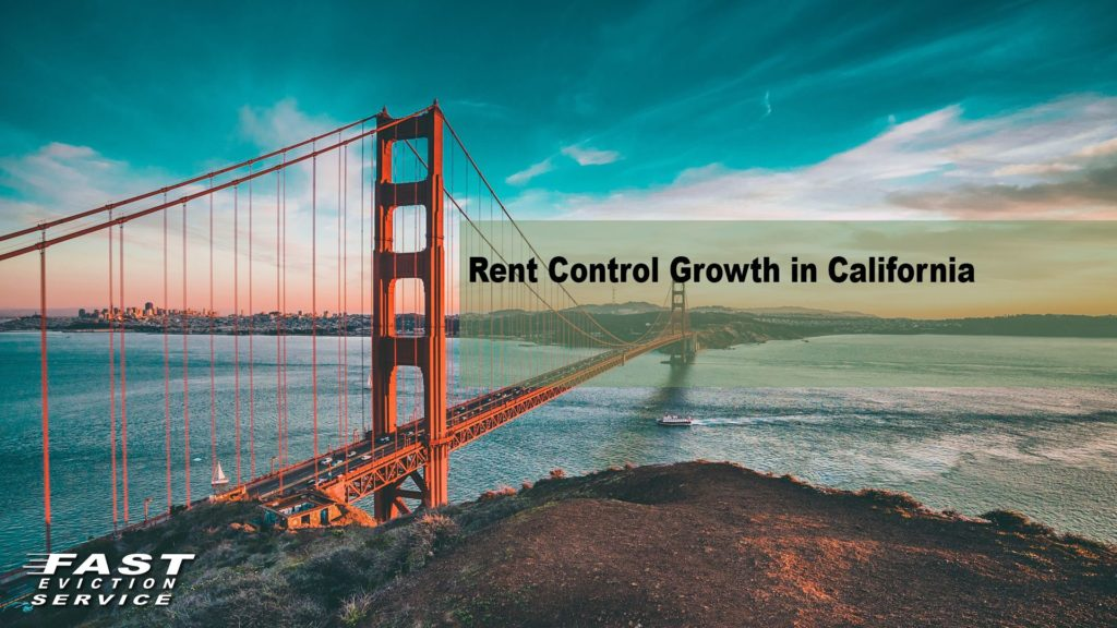 Rent Control Growth in California