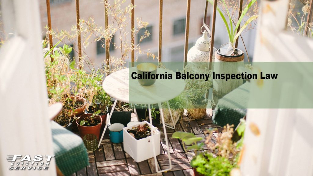 California Balcony Inspection Law