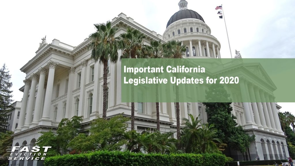 Important California Legislative Updates for 2020