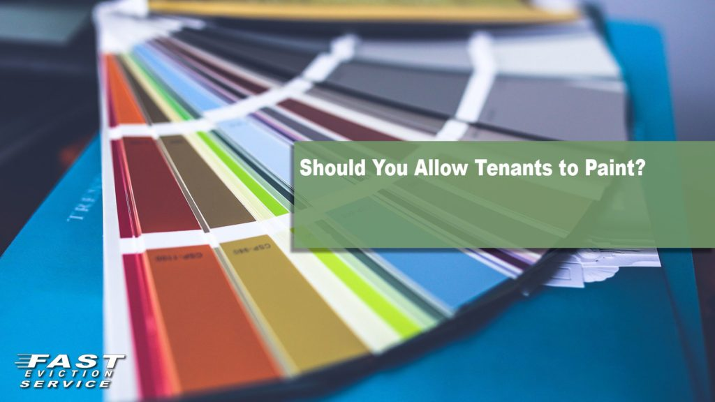 Should You Allow Tenants to Paint?