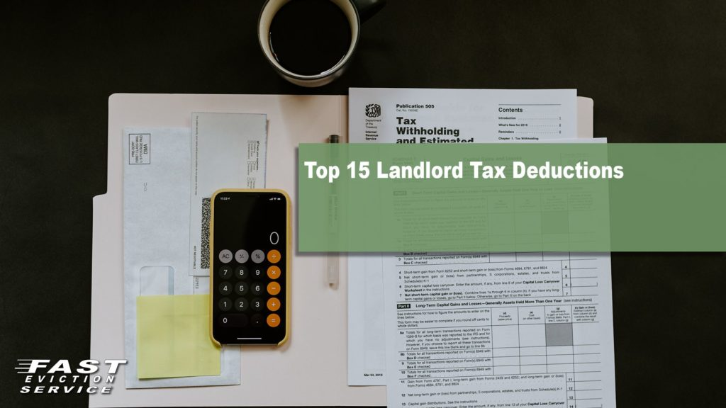 Top 15 landlord tax deductions