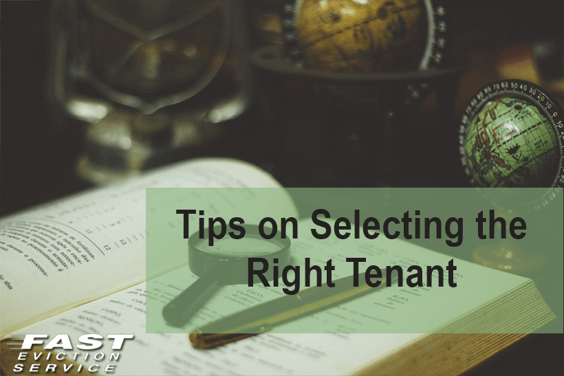 Tips on selecting the right tenant