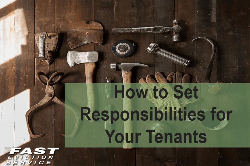 How to set responsibilities for your tenant