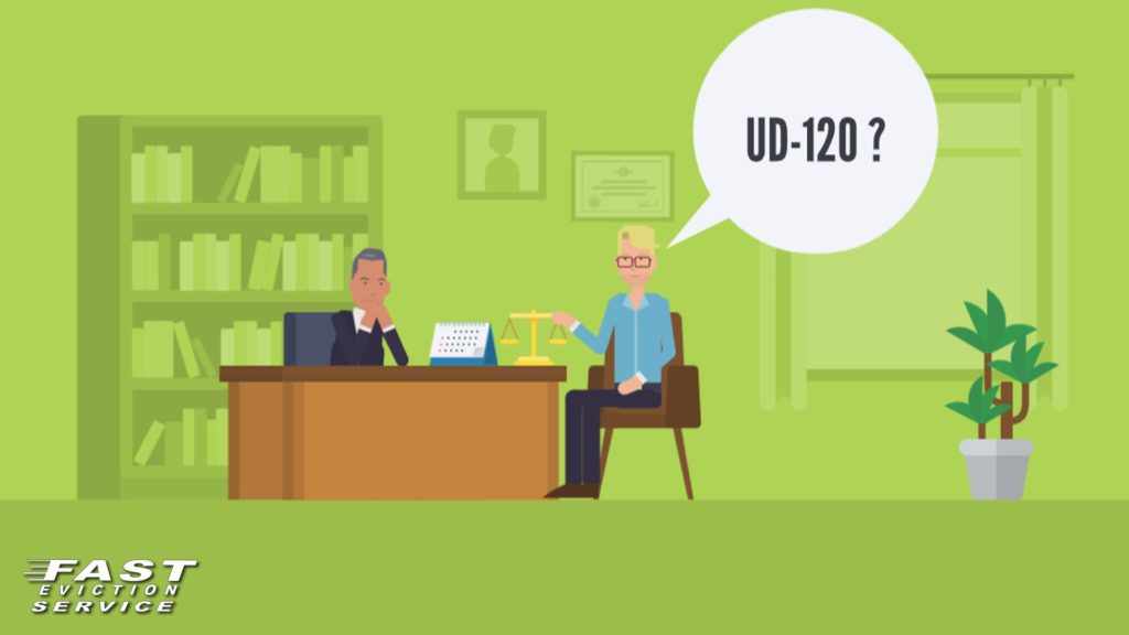 UD-120 verification by landlord regarding rental assistance